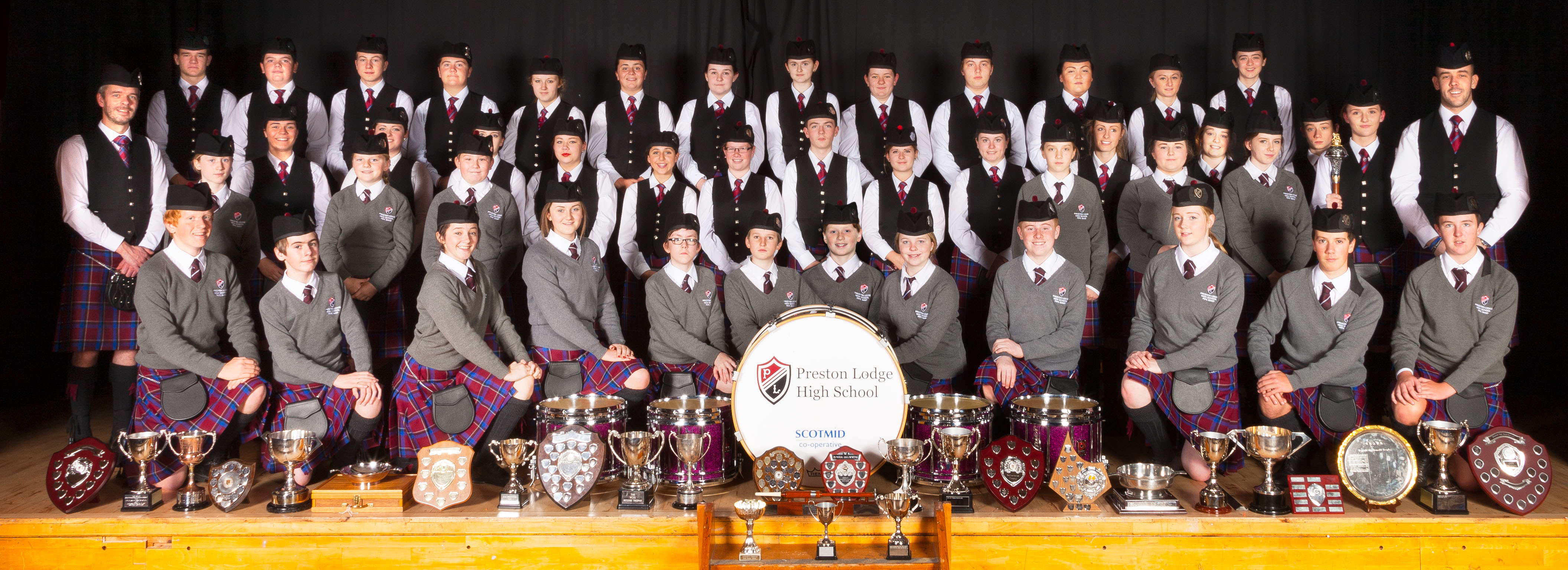 Preston Lodge High School Pipe Band