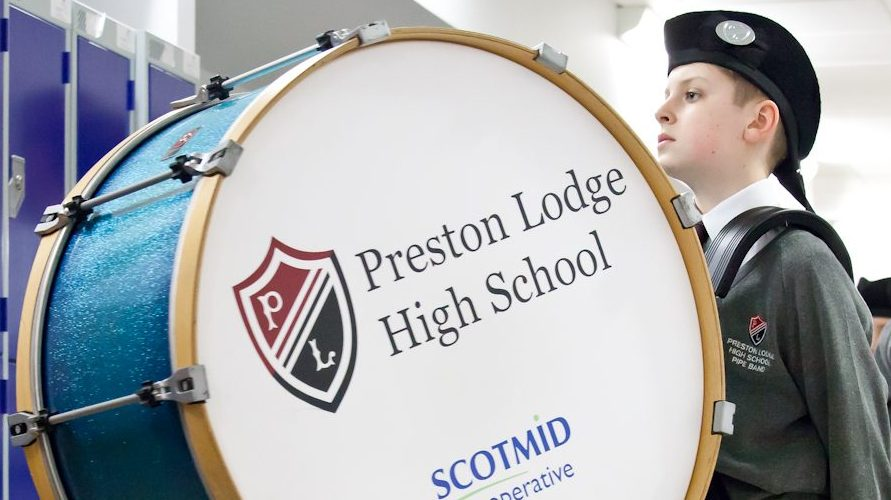 Happy New Year from PLHS Pipe Band!