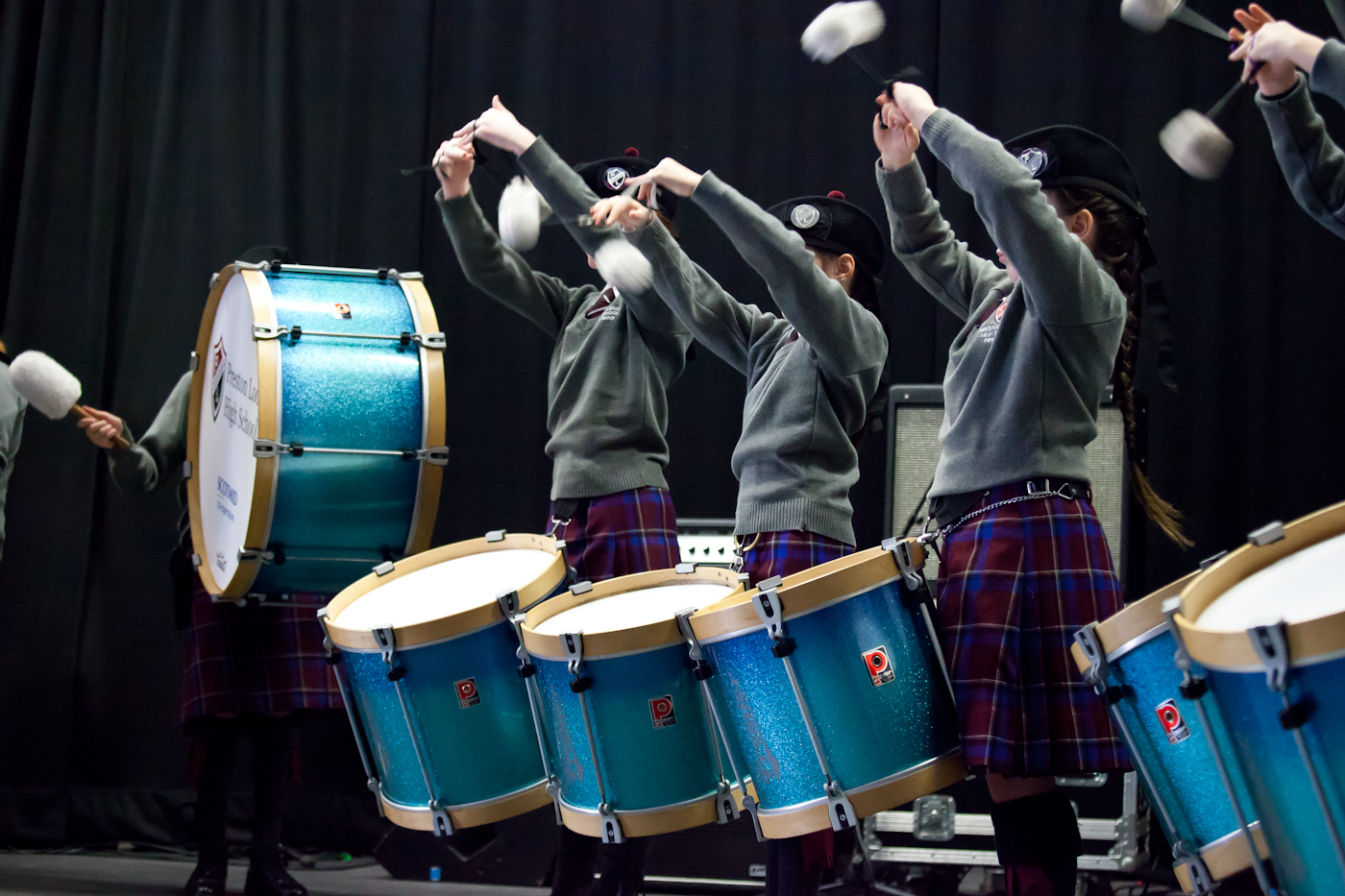 The PLHS Pipe Band 100 Club