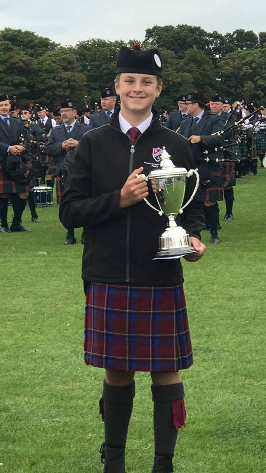 Success for our Novice Band at North Berwick
